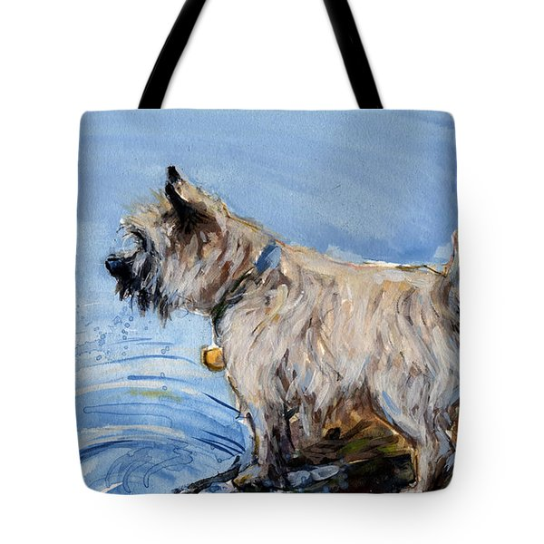 Great Bay Tote Bag by Molly Poole