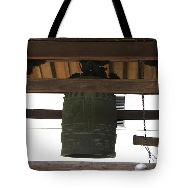 Tote Bag featuring the photograph Great Bells by Yumi Johnson