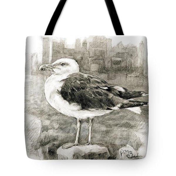 Great Black-backed Gull Tote Bag