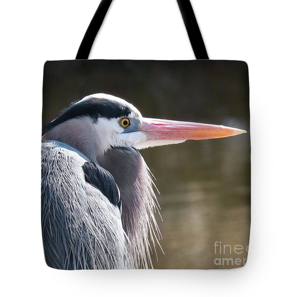 Great Blue Beauty Tote Bag by Anita Oakley