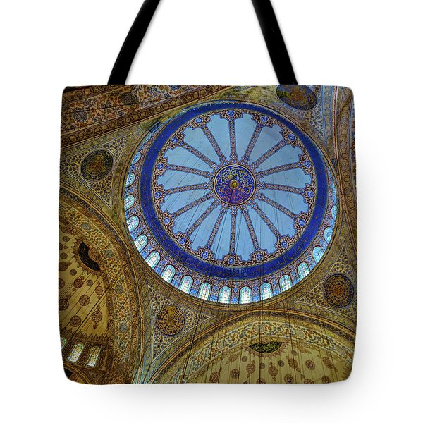 Great Blue Dome Tote Bag