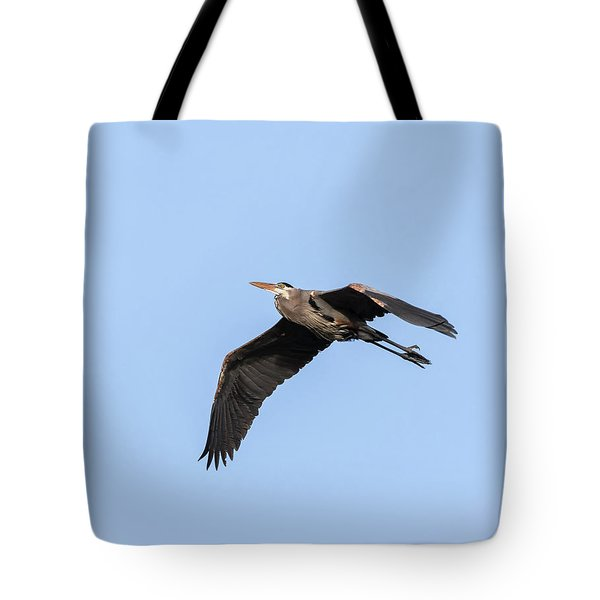 Great Blue Heron 2017-5 Tote Bag by Thomas Young