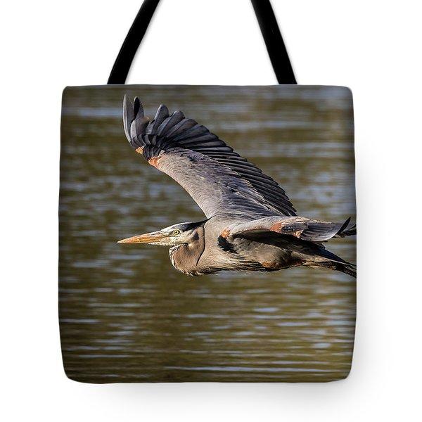 Great Blue Heron In Stratford Tote Bag