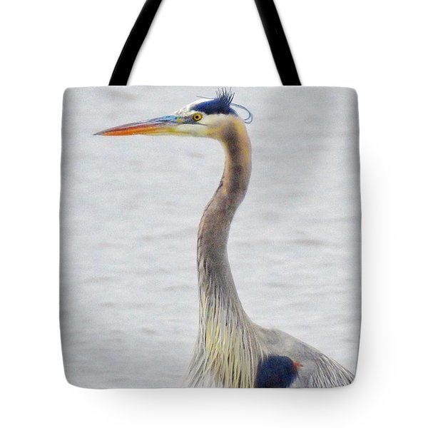 Great Blue Heron Of Virginia Tote Bag