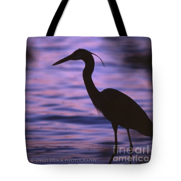Great Blue Heron Photo Tote Bag