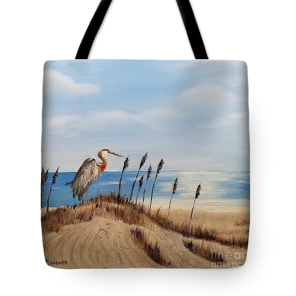 Great Blue Heron - Outer Banks Tote Bag