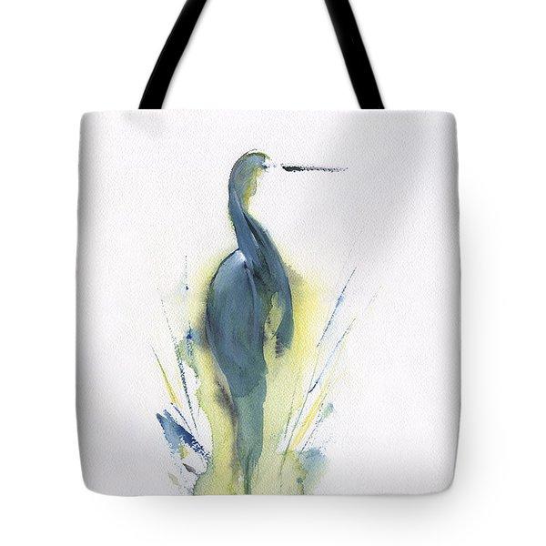 Blue Heron Turning Tote Bag