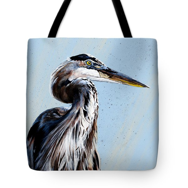 Great Blue Theodore Tote Bag