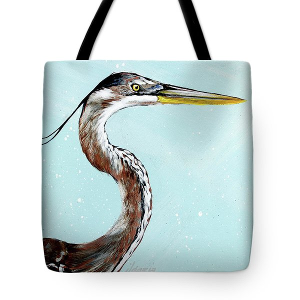 Great Blue Winston Tote Bag