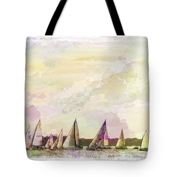 Great Day For Sailing 2 Tote Bag