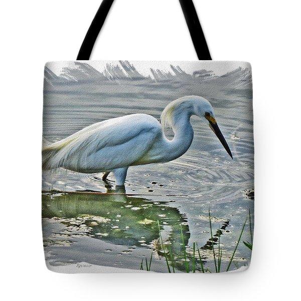 Great Egret 1157-2 Tote Bag