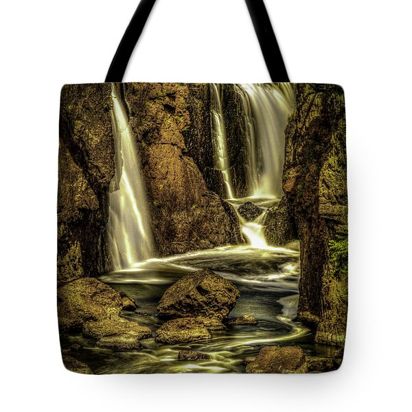 Great Falls Close Up Tote Bag