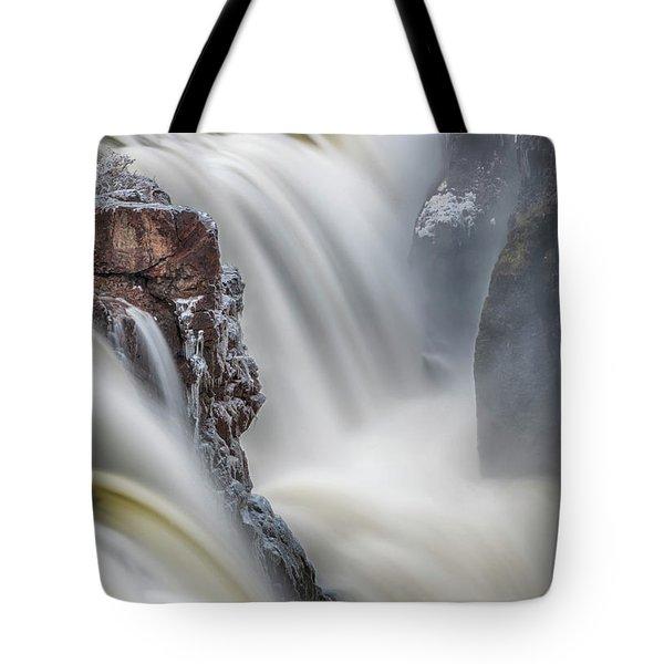 Great Falls Of The Passaic River Tote Bag
