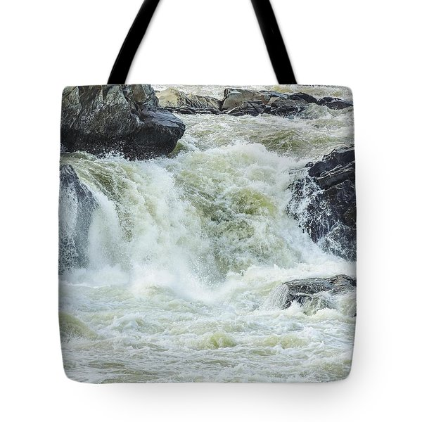 Great Falls Of The Potomac Tote Bag