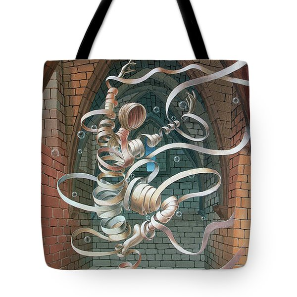 Great Ghost Of Caesarea Tote Bag