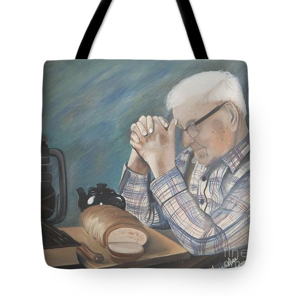 Great Grandpa Tote Bag by Jacqueline Athmann