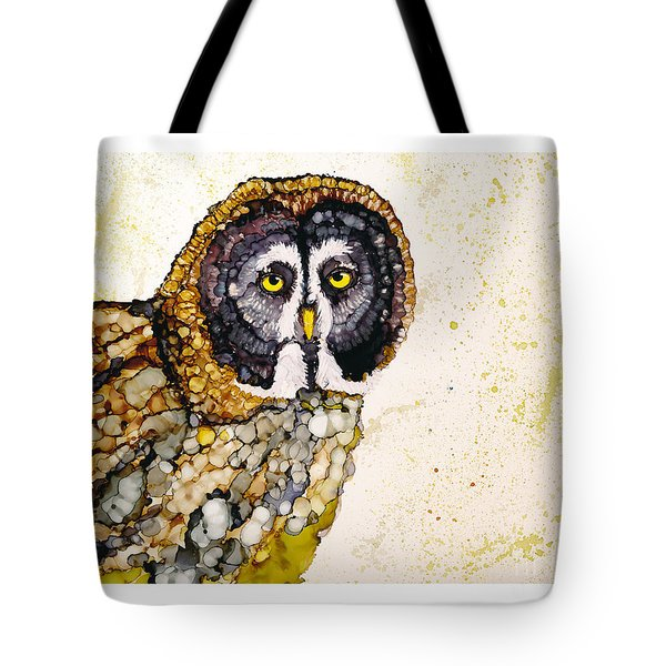 Great Grey Tote Bag