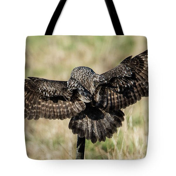 Great Grey's Back Tote Bag