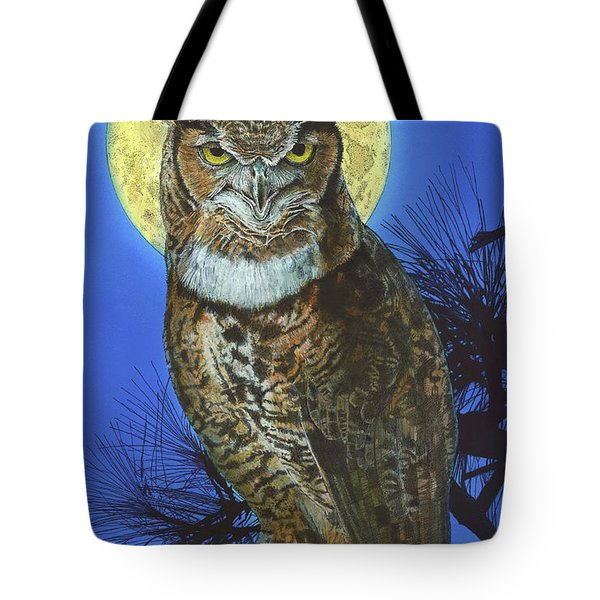 Great Horned Owl 2 Tote Bag