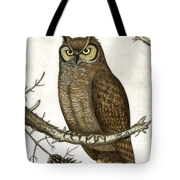 Great Horned Owl Tote Bag by Charles Harden