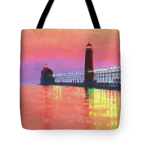 Great Lakes Light Tote Bag