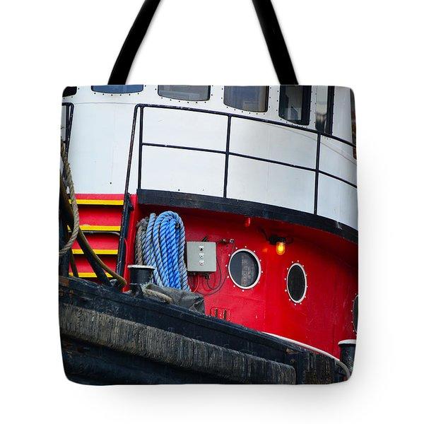 Great Lakes Tugboat Tote Bag