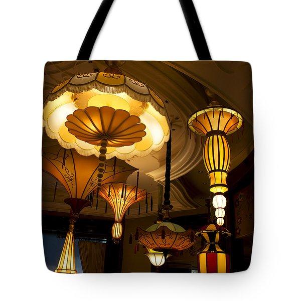 Great Lamps Tote Bag