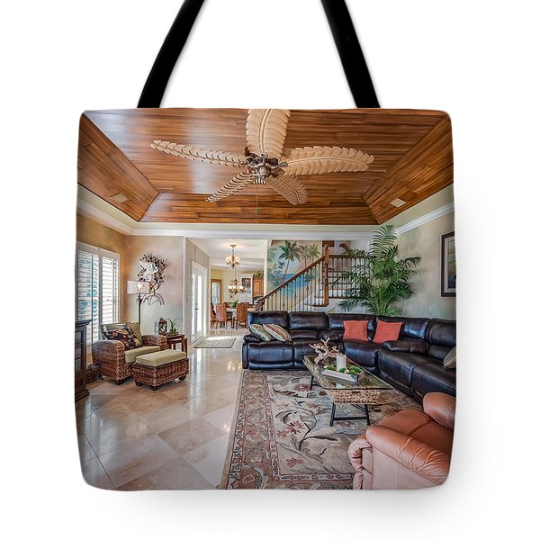Great Living Space Tote Bag