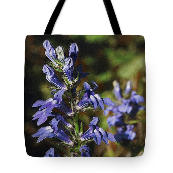 Great Lobelia Blues Tote Bag