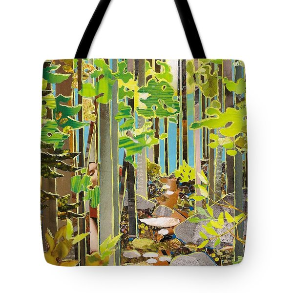 Great Maine Woods Tote Bag by Robin Birrell