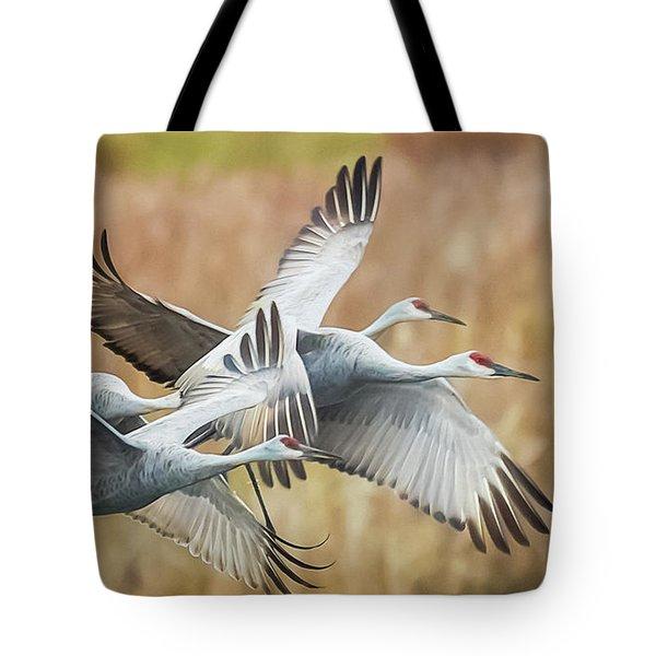 Great Migration  Tote Bag
