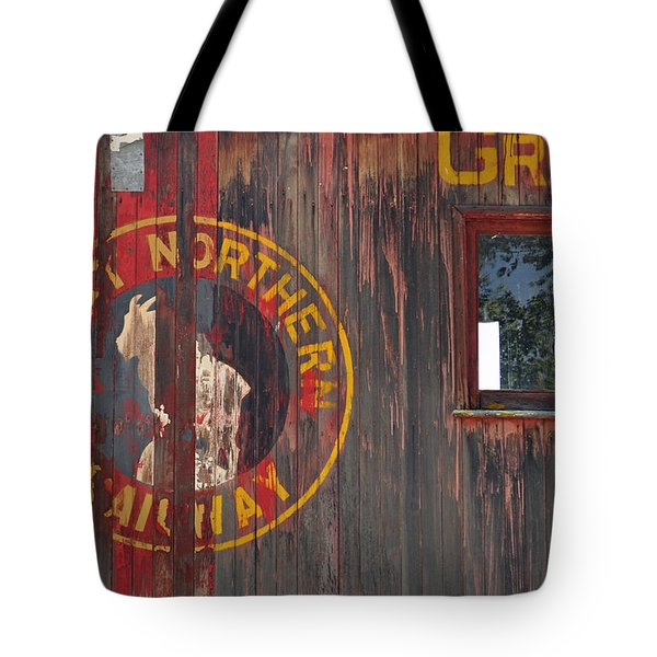 Great Northern Railway Old Boxcar Tote Bag