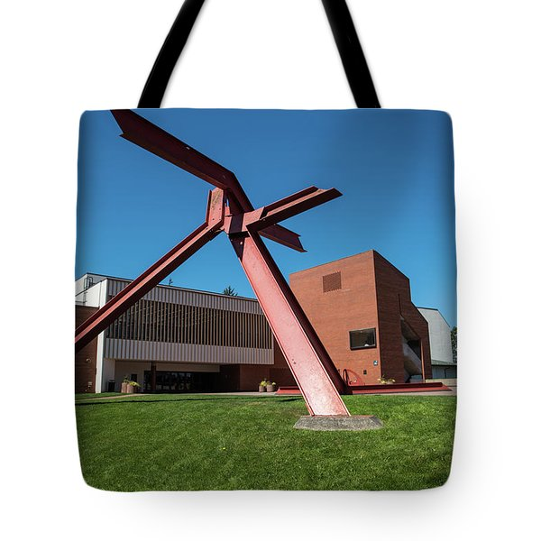 Great Orange Tripod Tote Bag