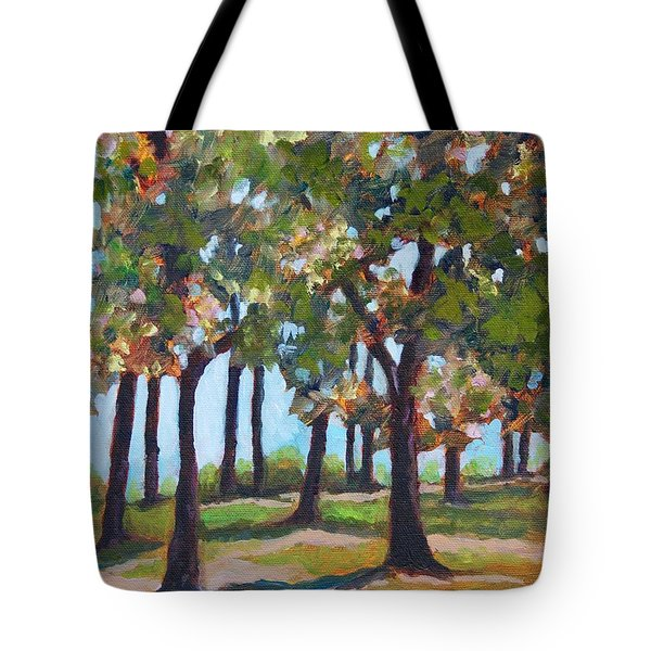 Great Outdoors Tote Bag by Jan Bennicoff