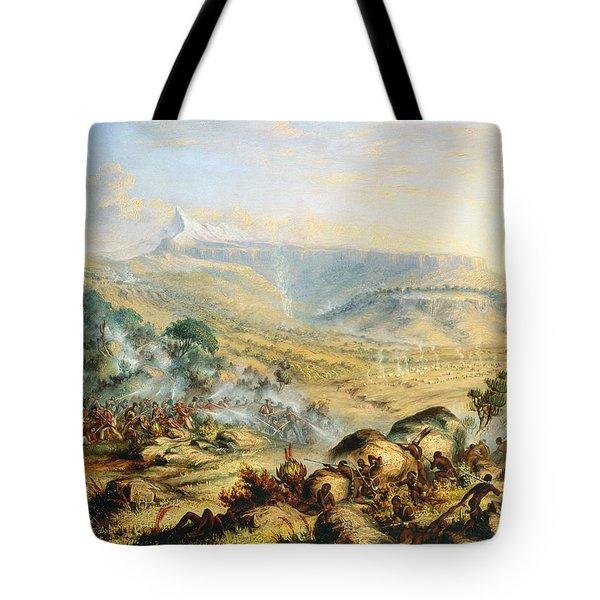 Great Peak Of The Amatola-british-kaffraria  Tote Bag by Thomas Baines