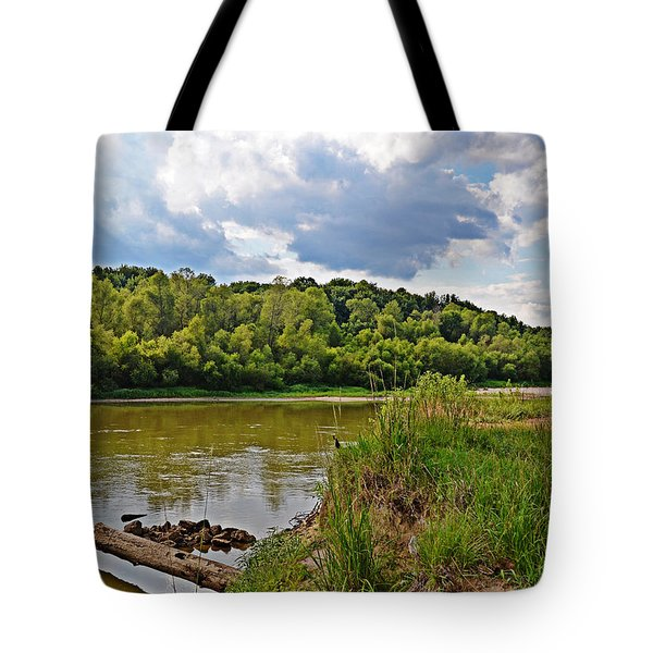 Great Pee Dee River Tote Bag by Linda Brown