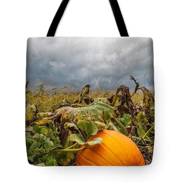 Great Pumpkin Off Center Tote Bag