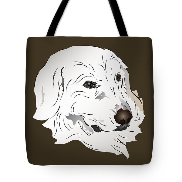 Great Pyrenees Dog Tote Bag
