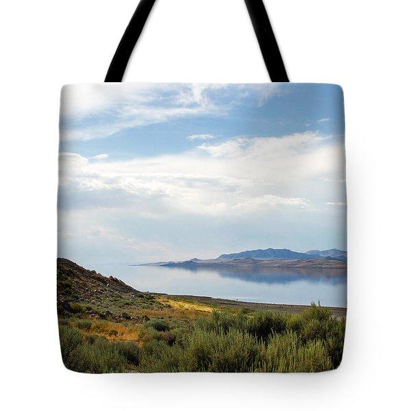 Great Salt Lake Tote Bag by Menachem Ganon