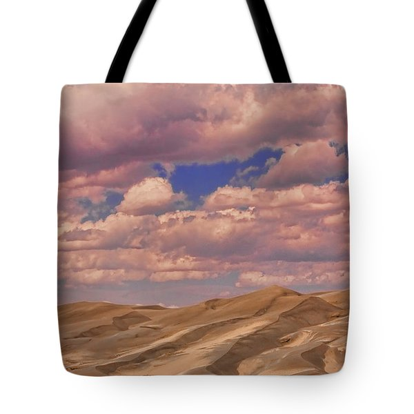 Great Sand Dunes And Great Clouds Tote Bag by James BO  Insogna