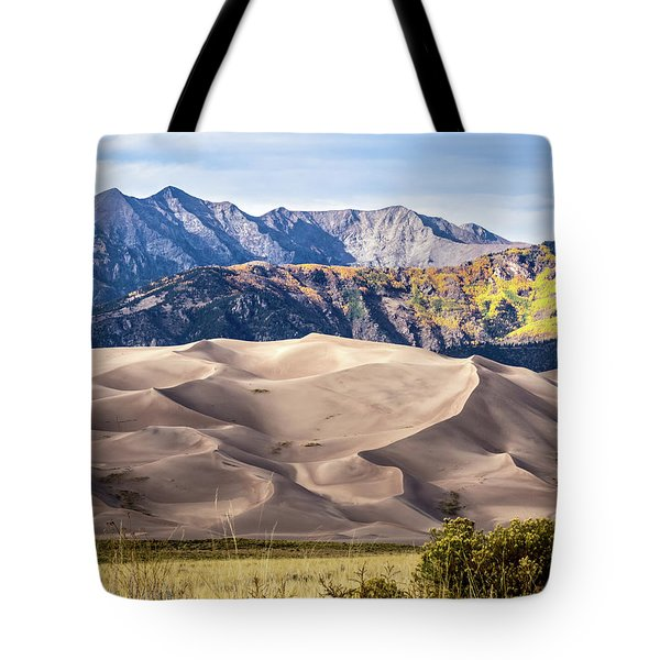 Great Sand Dunes Of Southern Colorado Tote Bag