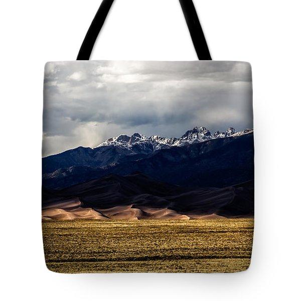 Great Sand Dunes Panorama Tote Bag