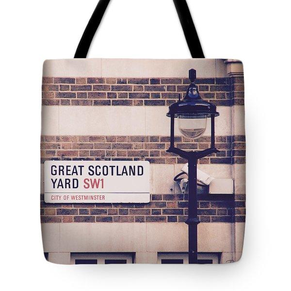Great Scotland Yard Tote Bag