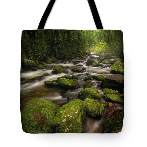 Great Smoky Mountains Roaring Fork Tote Bag