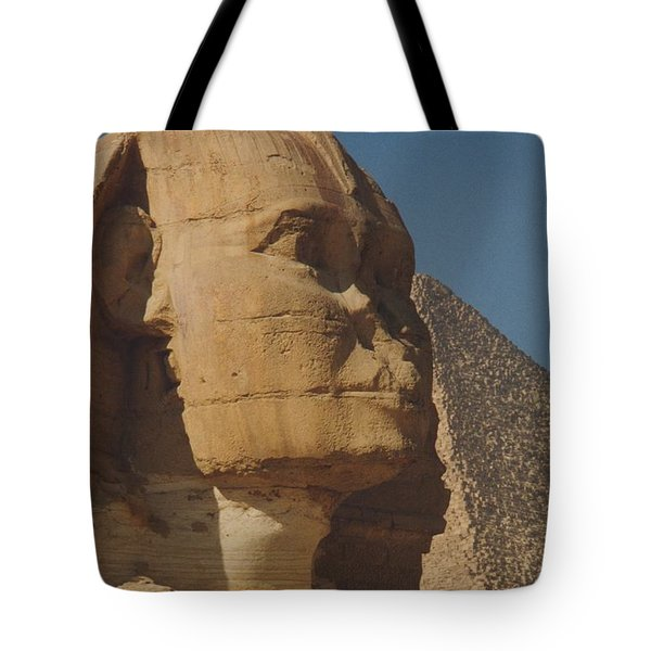 Great Sphinx Of Giza Tote Bag