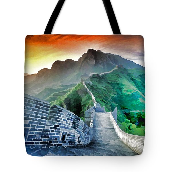 Great Wall Dawn Tote Bag