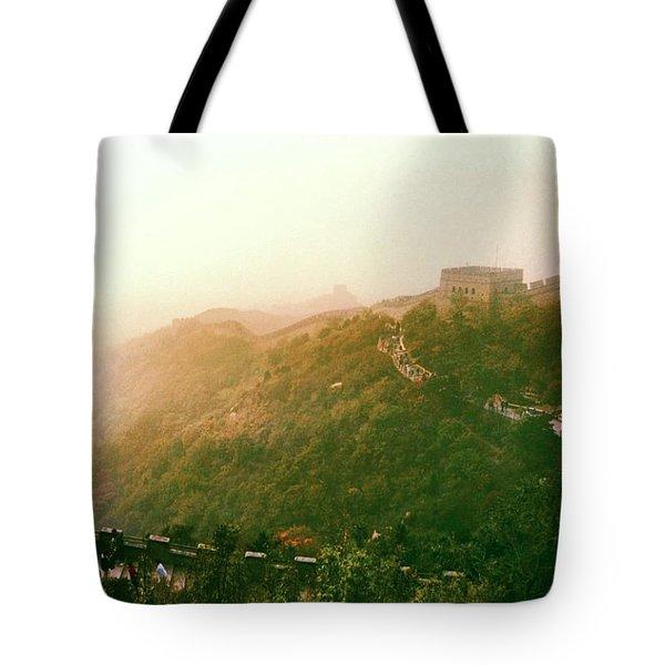 Great Wall Of China Beijing  Tote Bag