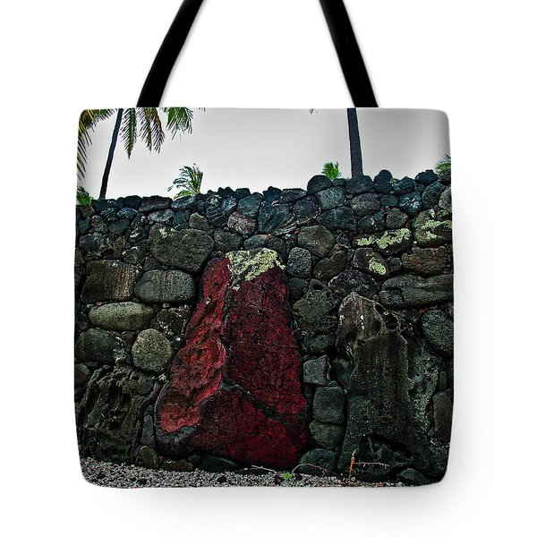 Tote Bag featuring the photograph Great Wall by Randy Sylvia