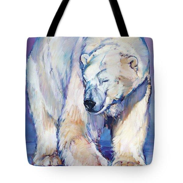 Great White Bear Tote Bag