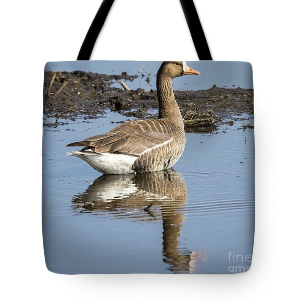 Great White Fronted Goose Tote Bag
